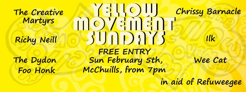 ilk at Yellow Movement Sundays
