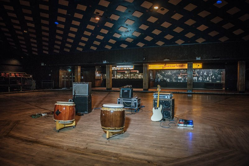 our instruments at The Barrowlands, Glasgow